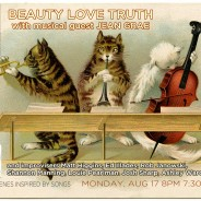 BEAUTY LOVE TRUTH w/musical guest JEAN GRAE Aug 17, 2015, at Union Hall